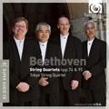 ベートーヴェン: 弦楽四重奏曲第10番 Op.74「ハープ」, 第11番 Op.95「セリオーソ」 / 東京クヮルテット