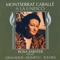 Montserrat Caballe at the UNESCO / Montserrat Caballe, Rosa Sabater