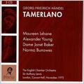 Handel : Tamerlano HWV.18 (11/1972)  / Anthony Lewis(cond), ECO, Maureen Lehane(Ms), Alexander Young(T), etc