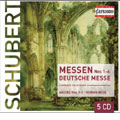 SCHUBERT:COMPLETE MASSES:NO.1-6/GERMAN MASS:G.ROBEV/BULGARIAN NATIONAL CHORUS/M.CREED(cond)/BERLIN RIAS CHAMBER CHORUS
