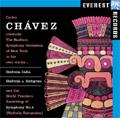 C.Chavez: Sinfonias -India & Antonga, Symphony No.4 / Carlos Chavez(cond), New York Stadium Symphony Orchestra