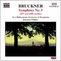Bruckner : Sym No.3 / Wildner & Westphalia New PO