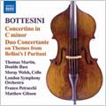 Bottesini : Ero e Leandro -Prelude, Double Bass Concerto, Il Diavolo della Notte -Sinfonia, etc (1/5-7/1994) /Francesco Petracchi(cond), LSO,  Thomas Martin(cb), etc