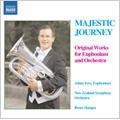 Majestic Journey -Original Works for Euphonium & Orchestra: K.Kaska, J.Golland, V.Cosma, etc (1/30-2/1/2006) / Adam Frey(euphonium), Bruce Hangen(cond), New Zealand SO