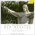 Handel (Mozart): Der Messias K.527  (1991) / Helmuth Rilling(cond), Stuttgart Bach Collegium, Gachinger Kantorei Stuttgart, Donna Brown(S), Cornelia Kallisch(S), etc