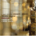 ...pour clarinette - Hindemith, Debussy, Trojahn, Poulenc - Spannungen Festival 2007 / Sharon Kam(cl), Lars Vogt(p), Antje Weithaas(vn), Gustav Rivinius(vc), Paul Rivinius(p), Diemut Schneider(cl)