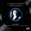 Great Violinists Heifetz - J.S.Bach: Violin Concertos; Mozart: Violin Concerto No.5 / Jascha Heifetz(vn)