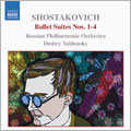 Shostakovich:Ballet Suites Nos. 1-4: Oleg Tokathev, Trumpet / Dmitry Yablonsky, Cello&Conductor / Russian Philharmonic Orchestra