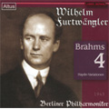 Brahms: Symphony No.4, Haydn Variations (12/12-15/1943) / Wilhelm Furtwangler(cond), Berlin Philharmonic Orchestra