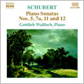 Schubert: Piano Sonatas No.5/ Wallisch