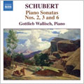 SCHUBERT:PIANO SONATAS:SONATA NO.2 IN C MAJOR, D.279/346/SONATA NO.3 IN E MAJOR, D.459/SONATA NO.6 IN E MINOR, D. 566/506:GOTTLIEB WALLISCH(p)