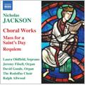 Nicholas Jackson: Choral Music / Ralph Allwood(cond), Rodolfus Choir, etc