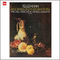 テレマン: 6つのソナタ(2つのフルートのための) Op.2: 第1番-第6番 (7/1974) / ミシェル・デボスト(fl), ジェームス・ゴールウェイ(fl)<タワーレコード限定>