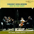 ツェムリンスキー: 弦楽四重奏曲 第1番 イ長調 作品4; ベルク: 弦楽四重奏曲 作品3; ウェールベン: 弦楽四重奏のための5つの楽章 作品5