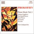Prokofiev: Piano Music Vol 1 / Eteri Andjaparidze