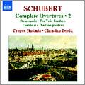 Schubert: Complete Overtures Vol.2 / Christian Benda, Prague Sinfonia