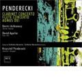 K.Penderecki :Clarinet Concerto, Flute Concerto, Agnus Dei (2001) / Krzysztof Penderecki(cond), Sinfonia Varsovia, etc