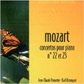 MOZART:PIANO CONCERTOS NO.22/NO.23:JEAN-CLAUDE PENNETIER(p)/KARL RISTENPART(cond)/SAAR CHAMBER ORCHESTRA