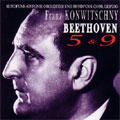 BEETHOVEN:SYMPHONY NO.5 (1951)/NO.9 (1960)/PIANO CONCERTO NO.5 (1958):FRANZ KONWITSCHNY(cond)/LEIPZIG RSO/LGO/W.BACKHAUS(p)/H.L.KUHSE(S)/EVA FLEISCHER(Ms)/R.APRECK(T)/H.KRAMER(B)