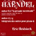 Handel: Complete Suites Vol.4; No.9,11,12,14 / Eric Heidsieck(p)