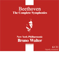 Beethoven: Complete Symphonies; NO.1-9 (1946-1952) (+Bonus CD/Symphony No.3, No.5[1941]) / Bruno Walter(cond). New York Philharmonic, Philadelphia Orchestra, Francis Yeend(S), Martha Lipton(A), David Lloyd(T), Mack Harrell(Br), Westminster Choir