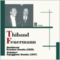 "Beethoven:Violin Sonata No.9 ""Kreutzer"" (1929)/Schubert:Arpeggione Sonata (1937)/Reger:Suite for Cello Solo No.1 (1939):Jacques Thibaud(vn)/Emanuel Feuermann(vc)/Alfred Cortot(p)/Moore, Gerald(p)"