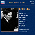 Alfred Cortot -Encores: 78 rpm Recordings: Schubert, Chopin, Brahms, etc (1925-26)