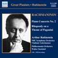 Rachmaninov: Piano Concerto No.2 in C Minor Op.18, Rhapsody on a Theme of Paganini Op.43, etc / Artur Rubinstein(p), Vladimir Golschmann(cond), NBC Symphony Orchestra, etc