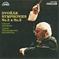 ドヴォルザーク:交響曲第3番/第5番