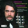 Giuliani: Concerto for Guitar & String Orchestra, Rodrigo: Concierto de Aranjuez / Jozef Zsapka, Bohdan Warchal, Slovak Chamber Orchestra