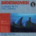Shostakovich:Symphony No.15/Cello Concerto No.1:Sergei Skripka
