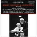 Mozart: Piano Concertos No.10, No.12, No.18, No.20 (1955-56) / Robert Casadesus(p), George Szell(cond), Columbia SO, Gaby Casadesus(p),