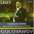 Liszt:Symphonic Poems:Berg Symphony/Prometheus/Mazeppa/Hungarian Rhapsody No.9/Paganini Etude No.5:N.Golovanov
