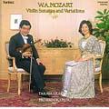 W.A.モーツァルト:ヴァイオリン・ソナタと変奏曲集