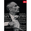 Smetana: Ma Vlast (My Country); Beethoven: Violin Concerto Op.61; Documentay ''Who is Karel Ancerl ?'' / Karel Ancerl, Czech PO, Henryk Szeryng