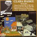 MOZART:CONCERTO FOR 2 PIANOS K.365 (4/1956)/PIANO CONCERTO NO.27 (1956)/J.S.BACH:CONCERTO FOR 2 PIANOS NO.2 (4/1956):CLARA HASKIL(p)/GEZA ANDA(p)/ALCEO GALLIERA(cond)/PHILHARMONIA ORCHESTRA/OTTO KLEMPERER(cond)/GURZENICH-ORCHESTER KOLN