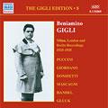 The Gigli Edition Vol.8 London, Berlin Recordings, 1933-1935:Beniamino Gigli
