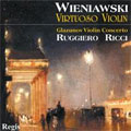 Wieniawski: Virtuoso Violin Pieces / Ricci, Gruenberg, Peters