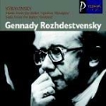 Stravinsky : Music from apollon musagete, Firebird Suite / Rozhdestvensky, USSR State Radio & TV SO