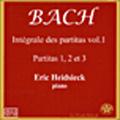 J.S.Bach: Partitas No.1-3 (BWV.825-827) / Eric Heidsieck(p)