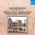 ドイツ・ハルモニア・ムンディ バッハ名盤撰 VOL.39:J.S.バッハ:音楽の捧げもの BWV.1079:バルトルド・クイケン(fl)/シギスヴァルト・クイケン(vn)/ヴィーラント・クイケン(gamb)/ロベール・コーネン(cemb)