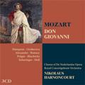 Mozart: Don Giovanni / Nikolaus Harnoncourt, Royal Concertgebouw Orchestra, Thomas Hampson, etc