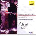 Abegg Trio/Hommage a Shostakovich: Piano Trios - Shostakovich, M.Obst / Abegg Trio [TACET174]