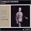 ジーン・モレル/Gounod: Faust / Jean Morel, Metropolitan Opera Orchestra & Chorus, Hilde Guden, etc [WLCD0270]