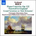 ウーヴェ・グロット/F.Ries: Piano Concertos Vol.3 - No.7 Op.132