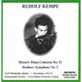 ライプツィヒ・ゲヴァントハウス管弦楽団/Mozart: Piano Concerto No.25 (1/8/1951), Brahms: Symphony No.2 (3/22/1957) / Rudolf Kempe(cond), Carl Seemann(p), Leipzig Gewandhaus Orchestra, Staatskapelle Dresden[ARPCD0330]