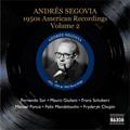 アンドレス・セゴビア/Andres Segovia Vol.4 -1950s American Recordings Vol.2 -F.Sor, M.Giuliani, M.M.Ponce, etc[8111090]