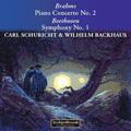 Brahms: Piano Concerto No.2; Beethoven: Symphony No.1 / Wilhelm Backhaus, Carl Schuricht, Orchestra della Svizzera Italiana, etc