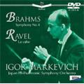 Igor Markevitch/ブラームス:交響曲第4番、ラヴェル:ラ・ヴァルス/マルケヴィッチ、日本フィルハーモニー交響楽団 [OVBC-00010]