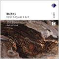ヤーノシュ・シュタルケル/Brahms: Cello Sonatas No.1 Op.38/No.2 Op.99: Janos Starker(vc)/Gyorgy Sebok(p)[2564699000]